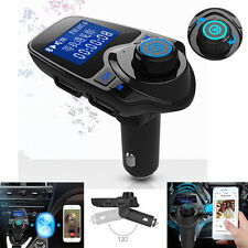 Caliente Inalámbrico Bluetooth transmisor FM Reproductor MP3 Coche Adaptador De Radio USB Cargador