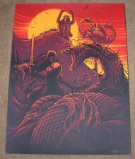 CONAN They Shall All Drown In Lakes of Blood movie poster art print Dan Mumford