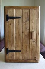 CORNER WALL CUPBOARD RUSTIC COTTAGE STYLE PINE WOOD KITCHEN BATHROOM HANDMADE