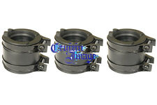 74-77 Suzuki GT380 carb Intake Set 3 Intake & 6 Clamps Include 21-GT380INBT-1