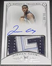2014-15 NATIONAL TREASURES RPA AUTO AUTOGRAPH JERSEY JORDAN ADAMS RC #30/99