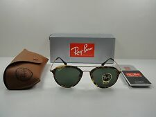 RAY-BAN SUNGLASSES RB4253 710 TORTOISE & GOLD/GREEN CLASSIC LENS 53MM, NEW!