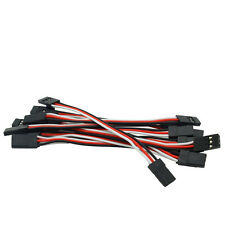10 x 3Pin 10cm Servo Extension Lead Wire for Futaba RC Connector Cable