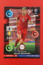 ADRENALYN ROAD TO UEFA 2016 TEAM MATE SWITZERLAND BEHRAMI 230  MINT!!!!