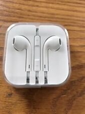 New Genuine Original APPLE iPhone 4 5 5S 6 6S EarPods Earphones W/ Remote & Mic