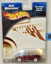 HOT WHEELS AUTO MILESTONES 1935 AUBURN BOAT TAIL SPEEDSTER