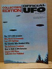 Official UFO Collector's Edition Magazine 1976 Fall Goffstown Creatures