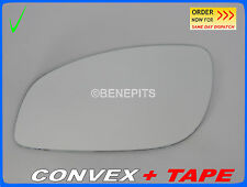 Wing Mirror Glass OPEL SIGNUM VECTRA 2003-2008 CONVEX + TAPE Left Side #F025 #16