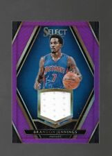 2015-16 Panini Select Brandon Jennings Jersey #54/75