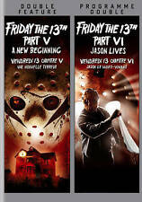 Friday the 13th Part V and Friday the 13th Part VI (DVD) Factory Sealed