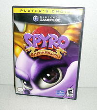 NINTENDO GAMECUBE Player's Choice SPYRO ENTER THE DRAGONFLY *CIB Complete 2002