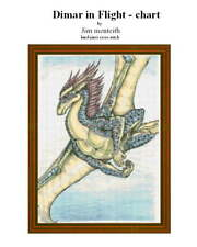 DIMAR IN FLIGHT - CROSS STITCH CHART