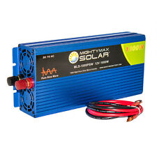 Mighty Max 12V 1000 Watt Pure Sine Wave AC Power Inverter with USB Port
