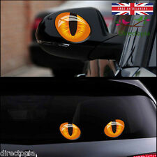 Cat Eyes 1 pair car stickers 3D vinyl decals décor KAWAII creative BRAND NEW