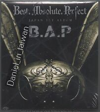 B.A.P: Japan 1st Album - Best Absolute Perfect 2016 Bap CD & DVD & CARD TAIWAN