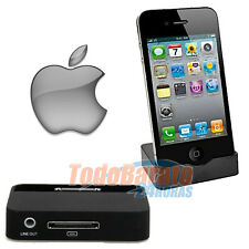 Soporte Dock Base de Carga Sincronización iPhone 4-G