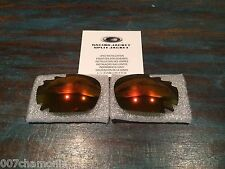 New Oakley Jawbone/Racing Jacket 30th Fire Iridium Vented Lens Set