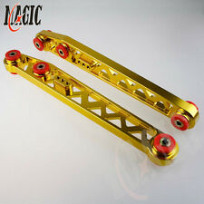 Rear Lower Suspension Control Camber Arms for 96-00 Honda Civic EK EJ Gold