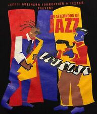 An Afternoon Of Jazz T Shirt L Large 100% Cotton Graphic Tee Short Sleeve
