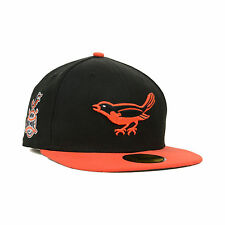 Baltimore Orioles 59FIFTY 1958 Side Patch MLB Baseball Cap By New Era Size 7 1/4