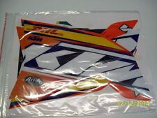 KTM GRAFICHE STICKERS DHL NUOVO EXC 08/11 SX 07/10 CRYSTAL SENZA TABELLE