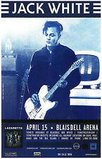 JACK WHITE 2014 HONOLULU CONCERT TOUR POSTER - Rock, Alt/Garage/Blues Rock Music