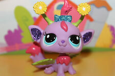 Littlest Pet Shop personaje hada-Daisy Fairy #2612 con brillo, super mono