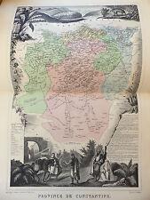 LA FRANCE ET SES COLONIES DÉPARTEMENT DE PROVINCE CONSTANTINE EDT 1874 VO DETAIL