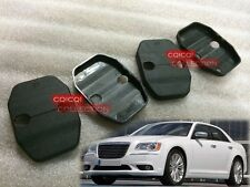 Chrysler 2012~2016 300 300c SRT8 door lock striker cover 4pcs  ◎