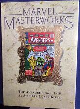 Marvel Masterworks The Avengers 1-10 Stan Lee Jack Kirby
