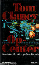 LIBRO=OP-CENTER=TOM CLANCY=I° EDIZIONE ITALIA 1996