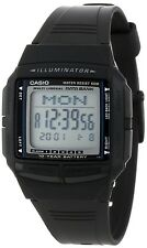Casio DB36-1A Mens Multi Lingual 30 Page Data Bank Resin Watch 10 Year Battery
