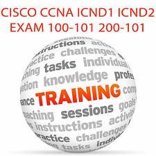 CISCO CCNA ICND 1 ICND 2 esame 100-101 200-101 - Video formazione tutorial DVD
