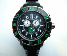 AQUASWISS RUGGED XG 96XG055 Chrono Swiss Watch, StSl Back/Green, Day/Date