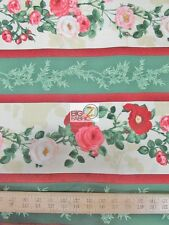"""BOUQUET MODERNE GREEN BY SOUTH SEA IMPORTS 100% COTTON FABRIC 45"""" WIDTH FH-1316"""