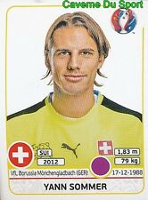 101 YANN SOMMER SWITZERLAND STICKER EURO 2016 PANINI