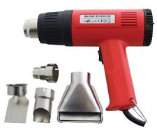 2000W HOT AIR HEAT GUN PAINT WALLPAPER STRIPPER REMOVER & 4 NOZZLES 2YR WARRANTY