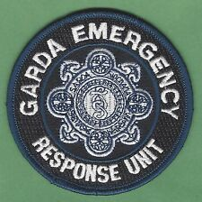GARDA SIOCHANA IRELAND POLICE EMERGENCY RESPONSE UNIT PATCH