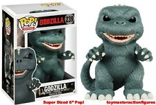 "FUNKO POP Movies 2015 CLASSIC GODZILLA #239 SUPER SIZED POP 6"" SEALED In Stock"