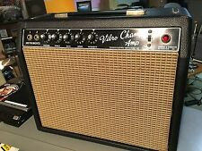 Vintage 1964 Fender Vibro Champ Amp 1st.Year Blackface Original Speaker Serviced
