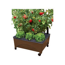 2-Gallon Self-Watering Patio Deck Tomato Vegetable Raised Garden Planter Bed Box