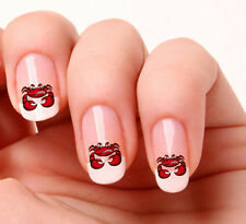20 Nail Art Stickers Transfers Decals #430 - Crab Just peel & stick