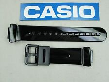 Genuine Casio Baby-G BG-169R BG-169A black resin rubber watch band 14mm lug