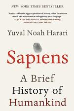 Sapiens: A Brief History of Humankind  by Yuval Noah Harari - Hardcover - NEW