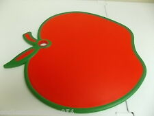 CUTTING BOARD- NON SLIP-RED APPLE -CAN BE USED FOR SERVING -BPA FREE