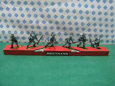 Vintage  Britains Super Deetail  Striscia con German Infantry  - R