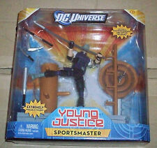 "DC UNIVERSE CLASSICS YOUNG JUSTICE 6"" BOX SET ACTION FIGURE SPORTSMASTER NINJA"