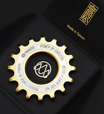 "17T TITANIUM Coated Track Cog  1/8"" by Ananta Fixed Gear Phil Dura Ace EAI"