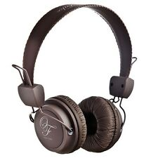 Original Fake 00 Brown Stereo Headphones Color with Mic. New under warranty
