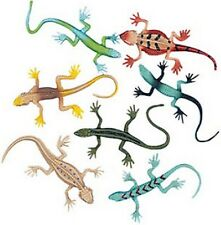 Pack of 12 - Small Rubber Lizards - Party Loot Bag Fillers